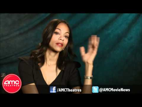 Zoe Saldana Talks COLUMBIANA With AMC
