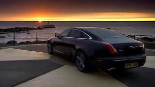 Race with the Sunrise | The New Jaguar XJ | Top Gear | BBC