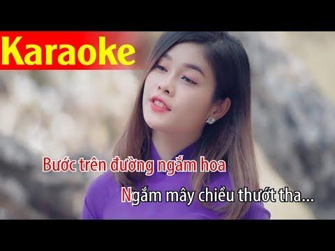 Karaoke Ngàn Thu Áo Tím - Đỗ Quốc Hương | Karaoke Tone Nam - Thời lượng: 5 phút, 30 giây.