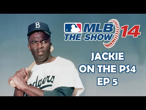 JACKIE ROBINSON ON PS4 - MLB 14: The Show - Jackie Robinson: Road to the Show - Episode 5
