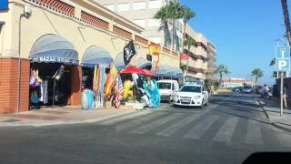 Santa Pola Spain  city photos : Drive through Santa Pola to the harbour / marina