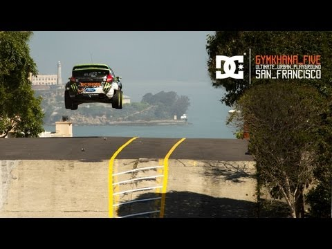 youtube - DC and Ken Block present Gymkhana FIVE: Ultimate Urban Playground; San Francisco. Shot on the actual streets of San Francisco, California, GYM5 features a fo...