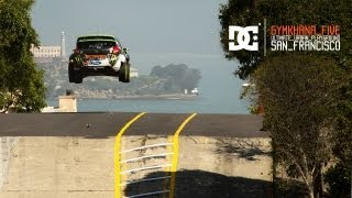 Video DC SHOES: KEN BLOCK'S GYMKHANA FIVE: ULTIMATE URBAN PLAYGROUND; SAN FRANCISCO MP3, 3GP, MP4, WEBM, AVI, FLV September 2017