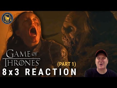 "Game of Thrones Reaction | 8x3 ""The Long Night"" (Part 1)"