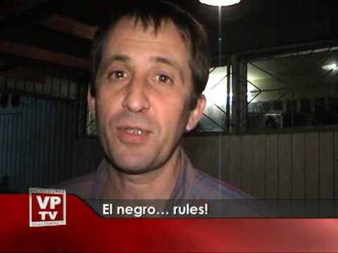 El negro… rules!