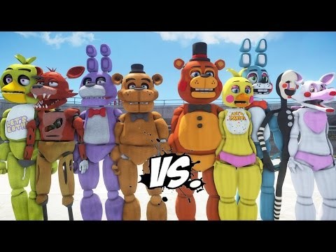 Download FIVE NIGHTS AT FREDDY'S VS FIVE NIGHTS AT FREDDY'S 2 HD Mp4 3GP Video and MP3