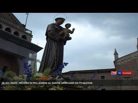13/02/2020 | RECORD DI PELLEGRINI AL SANTO: ARRIVANO DA 75 NAZIONI