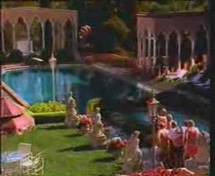 Carling - Canny Brit foxes German sunbed snatchers at the pool. TV ad from 1993. Dambusters theme.
