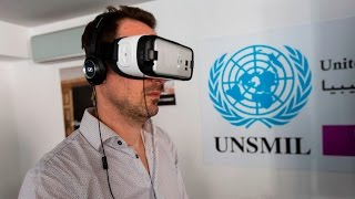 VR workshop UN in Libya
