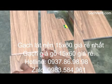 Gạch lát nền vân gỗ prime 15x60 giá rẻ|Gạch giả gỗ 15x60