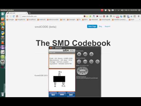 Video of Smd Code