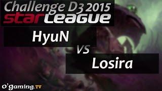 HyuN vs Losira - Starleague 2015 Season 2 Challenge - Day 3