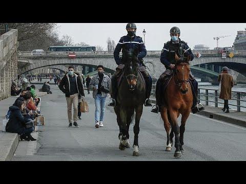 Covid-19 : l'Europe sous haute tension, les hôpitaux parisiens surchargés et l'Italie reconfine