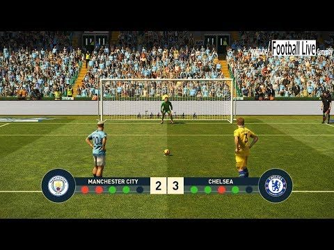 PES 2019 | Manchester City vs Chelsea FC | Penalty Shootout | Gameplay PC