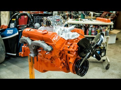 Chevy Small-block Engine Rebuild Time Lapse Commentary: Redline Rebuilds Explained [19:25]