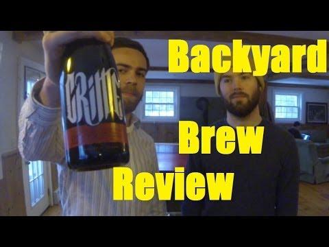 Backyard Brew Review! CRIME