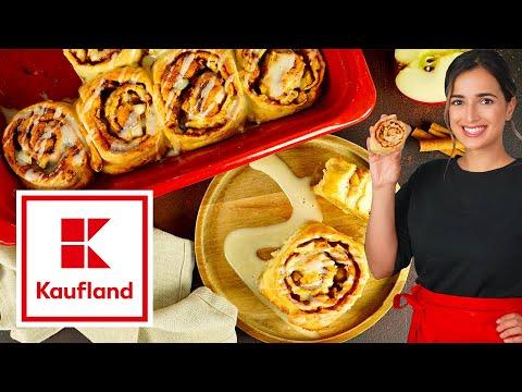 Hefeteig-Rezept   Apfel-Zimt-Schnecken backen   Kikis Kitchen