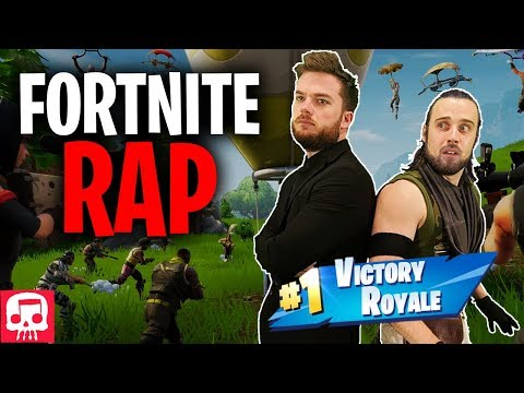 "Fortnite Rap by Jt Music - ""Never Give Up"""