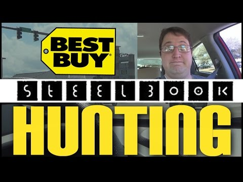 Steelbook Hunting! (Blu-ray Tuesday Shopping Video)