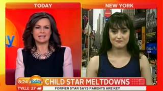 Mara Wilson interview on Today Australia (2013)