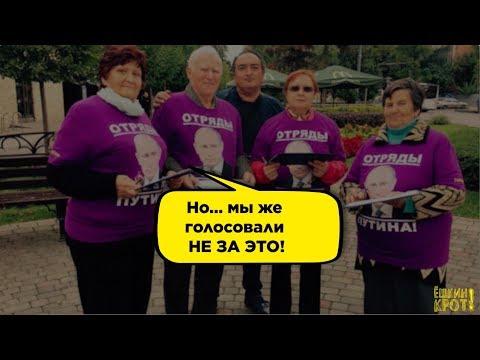 За что проголосовали избиратели Путина - DomaVideo.Ru