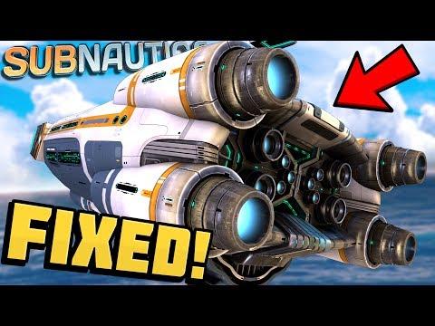 Subnautica - FIXING THE AURORA! Aurora Repair & Ship Exploration! - Subnautica Gameplay Part 4 (видео)