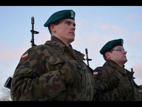 """Wręczenie broni """"Błękitnym"""" elewom - 12DZme"""