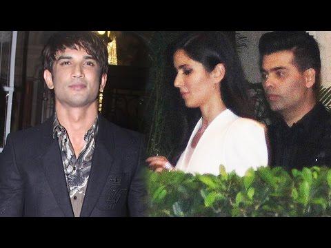 Katrina Kaif, Sushant Singh Rajput, Karan Johar An
