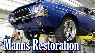 "Manns Restoration is a family owned shop in Festus, Missouri.  They have have won numerous awards from some of the most prestigious shows all around the country.  Whether it's the restoration of a treasured family heirloom, or the design and fabrication of a full custom show car...Manns Restoration can handle it all.  We hope you enjoy the video, we'll have many more in the days ahead.  You can find more about their current and past builds on their website at:  http://mannsrestoration.com/Restoration/Default.aspx or on their facebook page at:  https://www.facebook.com/MannsRestoration/The background track is ""Sleeping on the Blacktop"", by Colter Wall.  This video is not monetized, nor do we claim any rights to the music contained within."