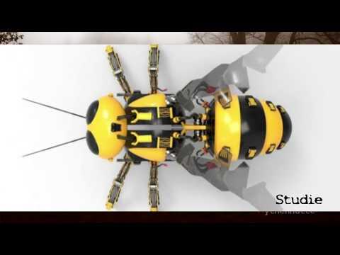 M Snippets 18.03.2018 u.a  *Walmart reicht Patent für Roboterbienen ein* Neues zu den Langschädeln* (видео)