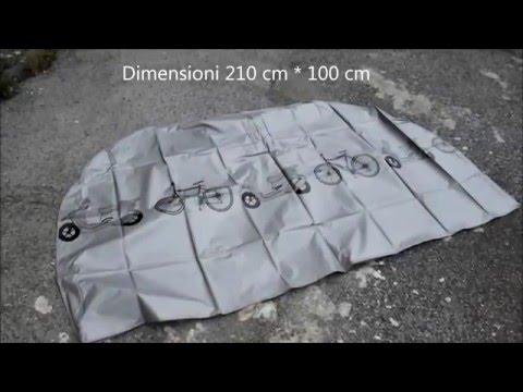 Copertura Impermeabile Senston per biciclette , motorini etc. - MoonIsland