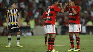 Flamengo 4 x 0 Botafogo - Copa do Brasil 2013 - Volta ( JOGOS MEMORÁVEIS ) Com 3 gols de Hernane e 1 gol por penalti de...