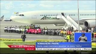 Papa Francis Akamilisha Ziara Yake Ya Siku Tatu Nchini Kenya Na Kuelekea Uganda