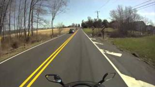 5. SYM RV250 Scooter Ride