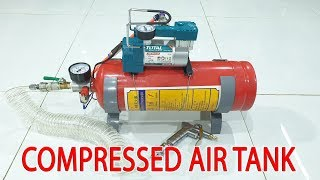 Video Build 12Volt Compressed Air Tank using Old Fire Extinguisher MP3, 3GP, MP4, WEBM, AVI, FLV Februari 2019