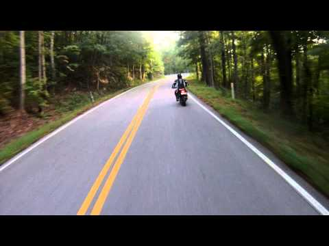 Honda Grom crash at Deals Gap