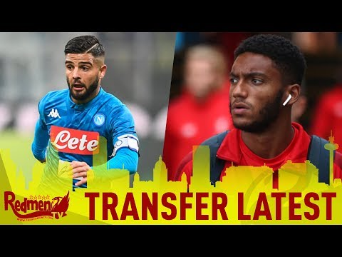 Gomez Injury Blow, Insigne Linked | Liverpool News Reaction