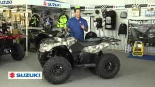7. 2016 Suzuki 400 ASI (ATV)