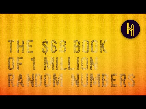 Why a Book of 1 Million Random Numbers Sells for $68