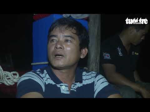 Lời kể của ngư dân: Tàu Trung Quốc xịt vòi rồng, ép tàu Việt Nam va vào đá ngầm - Thời lượng: 2 phút, 8 giây.