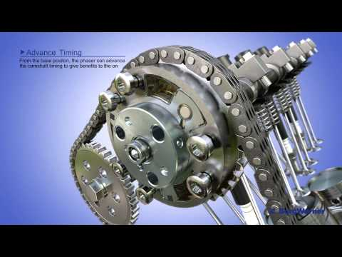 cam timing - Animation of BorgWarner's variable cam timing system with mid position lock. The short video depicts how the product works as well as features and benefits o...