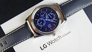 LG Watch Urbane: Unboxing&Review