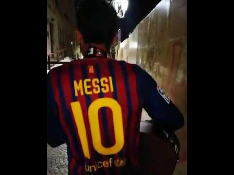 La serenata di Lucas Castro… per Leo Messi!