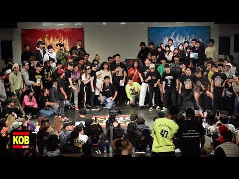 Blackzik vs Twiggz Deuce MENS TOP 34 ⑧ KING OF BUCK 10