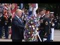 Trump Lays Memorial Day Wreath At Arlington Cemetery