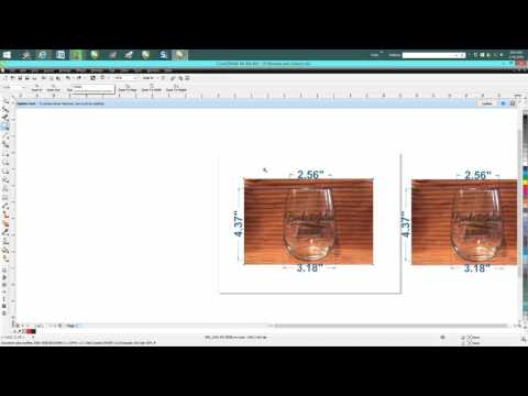 Corel Draw Tips & Tricks Little Info On Engraving On A Wine Glass And More