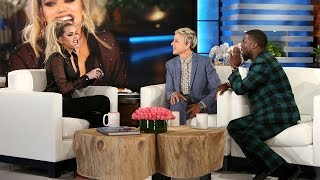 Khloé Kardashian Plays'Speak Out'
