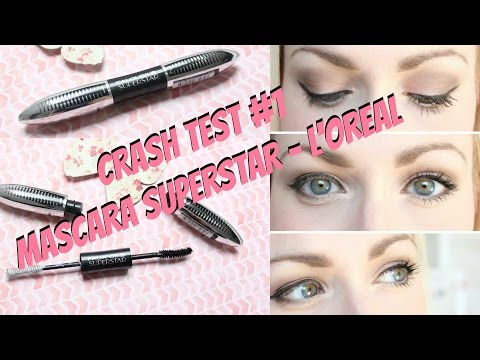 Crash Test #1 -  Mascara faux cils Superstar - L'oréal