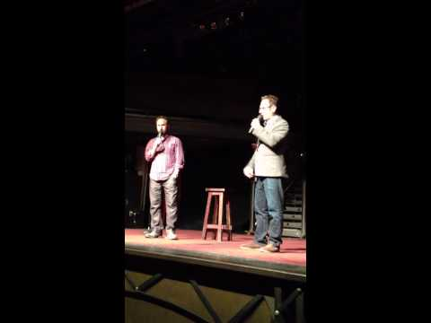 Excerpt of The Sklar Brothers Chopper 4 Live Comedy Bit