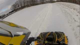 7. Can-Am Renegade 500 putting Mega Mayhems to work - GoPro Hero 2